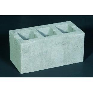 Блок будівельний з наскрізними отворами