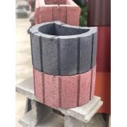 Клумба бетонна
